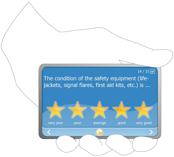 Survey illustration - Euminia rating system